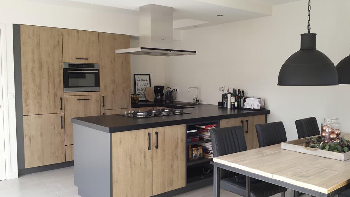 Echt hout of een houtlook in uw keuken keukenstudio regio oost