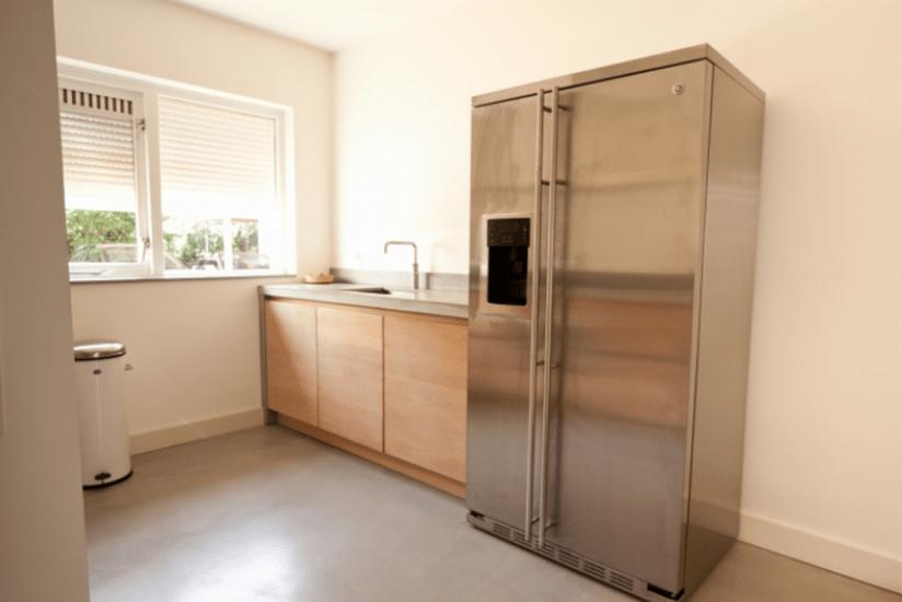Strakke Design Keukens : Strakke natuurlijke design keuken rijssen keukenstudio regio oost