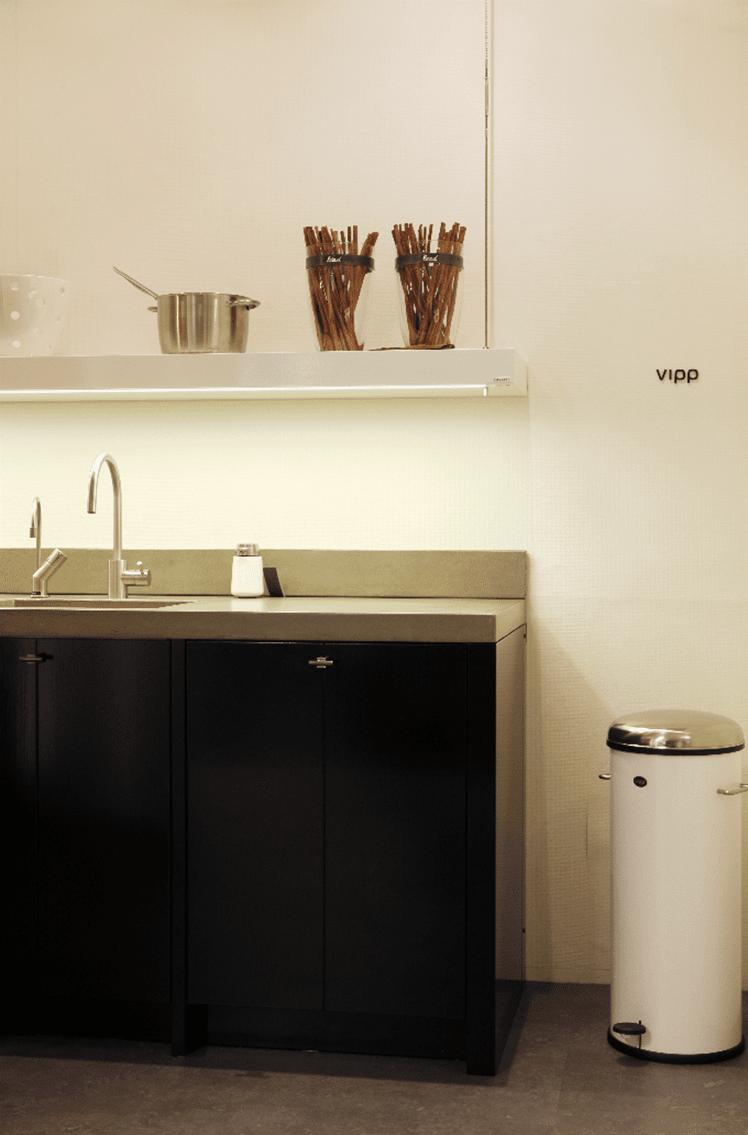 Vipp design keuken keukenstudio regio oost - Designer keuken ...
